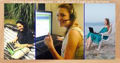 Online #Englischkurse - Mit #Skype Englisch lernen // Unterricht ist von überall möglich!