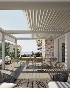 Patio Gazebo, Outdoor Pergola, Outdoor Rooms, Indoor Outdoor, Outdoor Living, Backyard, Outdoor Decor, Pergola Ideas, Patio Ideas