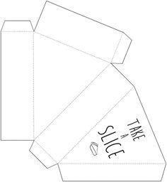 Printable Pie Box @themerrythought