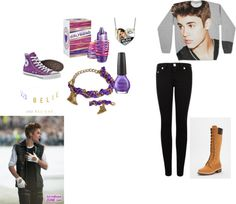 """""""my justin bieber concert outfit!"""" by nnddmm ❤ liked on Polyvore"""