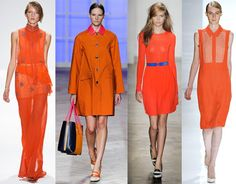 """""""Sophisticated but at the same time dramatic and seductive, Tangerine Tango is an orange with a lot of depth to it,"""" said Leatrice Eiseman, executive director of the Pantone Color Institute."""