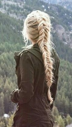 Fishtail braid #gorgeoushair