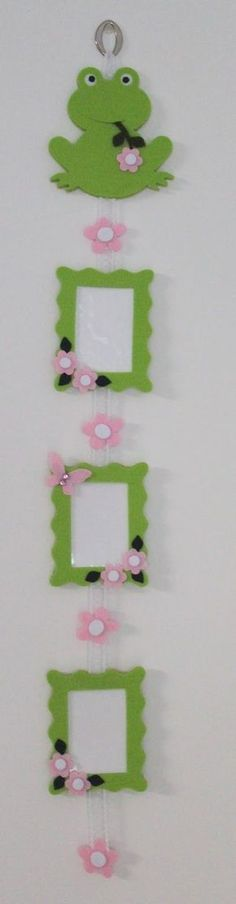 This Pin was discovered by Mel Cool Paper Crafts, Felt Crafts, Diy And Crafts, Crafts For Kids, Arts And Crafts, Puppet Crafts, Idee Diy, Felt Decorations, Handmade Frames