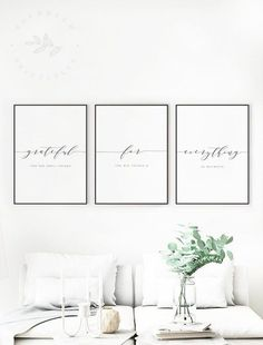 Grateful for Everything Printable Quote, Gratitude. Grateful for Everything Printable Quote, Gratitude Quotes, Grateful for the Small Things Gratitude Wall Art Modern Gratitude Printable Quote Living Room Sets, Living Room Furniture, Living Room Decor, Bedroom Decor, Wooden Furniture, Wall Ideas For Bedroom, Antique Furniture, Room Ideas, Cozy Living