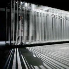 Tunnel, a kinetic sculpture by the Cantoni-Crescenti (Rejane Cantoni and Leonardo Crescenti).