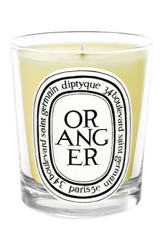 Experience orange on a whole new level. Diptyque candle