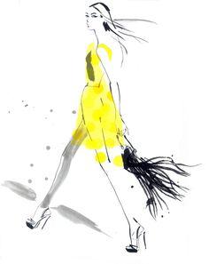 illustration by Jacqueline Bisset