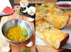 US Masala: Easy-Cheesy Garlic Bread