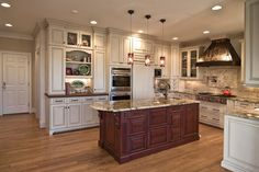 Rosa Dest Interiors: Range Hoods: The Focal Point We All Love Home Kitchens, Wood Kitchen Cabinets, Rustic Kitchen, Kitchen Design Styles, Kitchen Inspirations, Kitchen Decor, Kitchen Contest, Kitchen Guide, Kitchen Styling