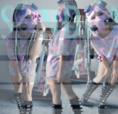 My CyberDecora outfit by me :) :*