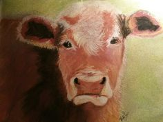 Cow Lick by VickilynnCritters on Etsy