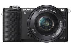 Sony a5000 Η μικροτερη mirroless camera με 4Κ βιντεο! (CES 2014)