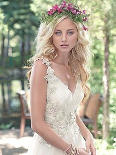 Shelby Wedding Dress by Maggie Sottero | front