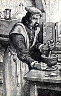 Louis Hebert - Apothecary