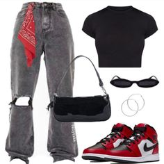 Cute Swag Outfits, Edgy Outfits, Mode Outfits, Retro Outfits, Grunge Outfits, New Outfits, Teen Fashion Outfits, Look Fashion, Hijab Fashion