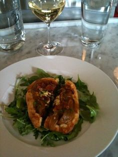 Bacon & Onion tart from Heirloom Cafe