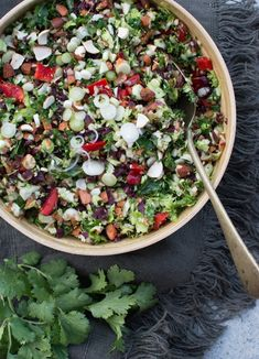 Healthy Sides, Healthy Salads, Vegetable Pasta Salads, Cabbage Head, Raw Vegetables, Honey Mustard, Cooking With Kids, Salad Bowls, Grain Free
