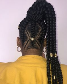 Creating a beautiful box braids hairstyle add fun and attraction. But the further advancement with cuff beads or buns makes the hairstyle simply eye-c. Box Braids Hairstyles For Black Women, Kids Braided Hairstyles, Winter Hairstyles, Little Girl Hairstyles, Hairstyles Haircuts, Layered Hairstyles, Children Hairstyles, Kids Hairstyle, Long Haircuts