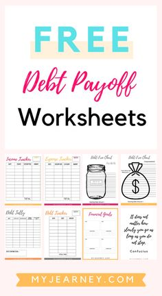 credit card debt payoff printable Free Printables: Debt Payoff Worksheets to help you keep track of your income, expenses and debt repayments. Related Post: Step-by-Step Guide on How to Get Out of Debt Quickly Debt Repayment, Debt Payoff, Debt Consolidation, Dave Ramsey, Budgeting Finances, Budgeting Tips, Budgeting Worksheets, Debt Snowball Worksheet, Debt Tracker
