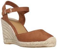 F&F Espadrille Wedge Sandals