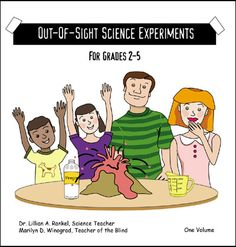 Over 30 experiments for grades 2-5, specially designed for young scientists who are #blind or visually impaired.  Available in Large Print and Braille, from NBP.