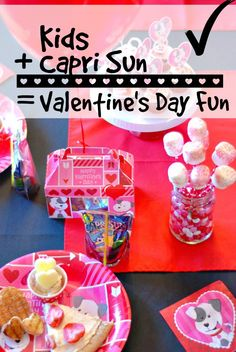 Here's some easy, simple and fun ideas for hosting a Valentine's Day Party for kids