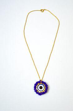 Ojo turco Pendant Necklace, Ideas, Jewelry, Fashion, Handmade Accessories, Handmade Jewelry, Eyes, Friends, Bangle Bracelets