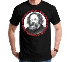 Camiseta Camisa Mikhail Bakunin Anarquia