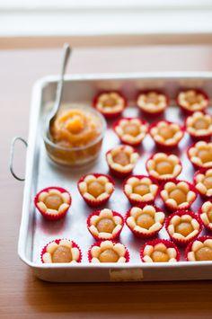 pineapple jam tarts from @Kira Kira Kira Neal Srivastava