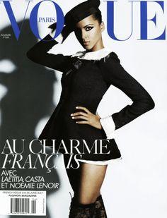 Vogue Paris June/July 2008 :  Noémie Lenoir