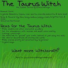 The #Taurus #Witch: Garden of Ash & Bone