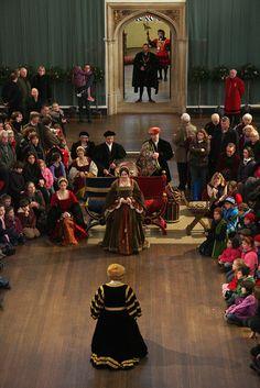 Tudor re-enactor