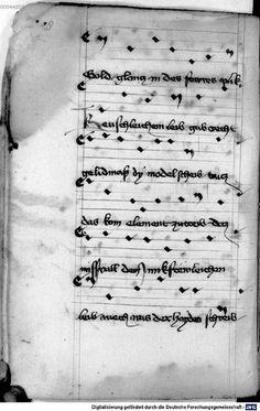 Mönch von Salzburg. Oswald von Wolkenstein: Geistliche Lieder mit Melodien Bayern/Österreich, erste Hälfte 15. Jh.: 3. Viertel 15. Jh. Cgm 715 Folio 114