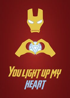 You light up my heart