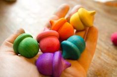 How-to: Stain Unfinished Wooden Toys with Vibrant Colors...this also looks like it has lots of other ideas for DIY toys