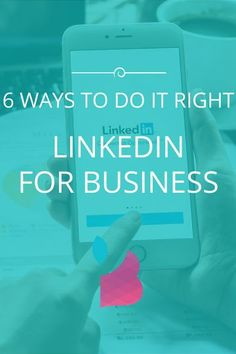 For many, using LinkedIn for business can be confusing. Yet of marketers rate it as the top social media lead source. Here's 6 ways to do it right. Marketing Services, Marketing Goals, Digital Marketing Strategy, Email Marketing, Content Marketing, Affiliate Marketing, Social Media Marketing, Marketing Strategies, Linkedin Business