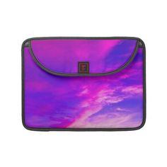 Purple Summer Sky MacBook Pro Sleeves