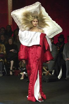 Extreme snuggie by Viktor & Rolf, complete with pillow