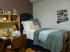 So proud of my freshman year dorm room last year all from MOXII AUBURN. So blessed to work with their creative team to bring my Pinterest to a reality.