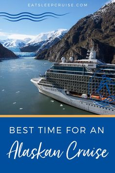 Best Time of Year to Go on an Alaskan Cruise. Our cruise editors detail the best time to travel to Alaska based on price, weather, and wildlife sightings. Cruise Excursions, Cruise Destinations, Cruise Travel, Cruise Vacation, Travel Usa, Vacations, Best Cruise, Cruise Tips, How To Book A Cruise