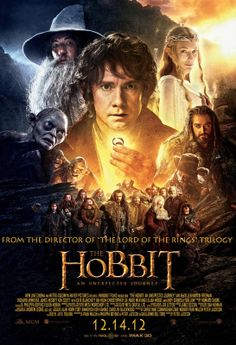 The Hobbit - an unexpected journey! I really wanna see this!