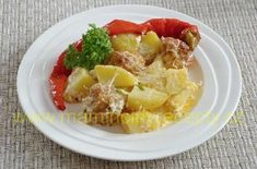 Masové kuličky v bramborách – Maminčiny recepty