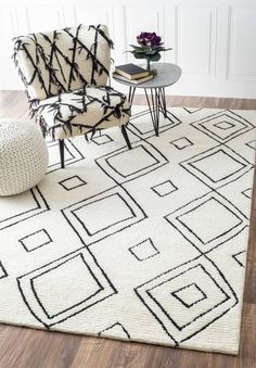 Rugs Usa Natural Vega Moroccan Diamond Wool Rug Give Your Interiors The Contemporary Look With This Beautiful Hand Tufted