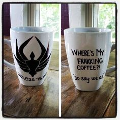 Hey, I found this really awesome Etsy listing at https://www.etsy.com/listing/157849007/custom-coffee-mug-battlestar-galactica