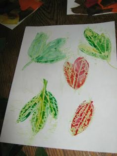 All Things Beautiful: Autumn Crafts: Leaves