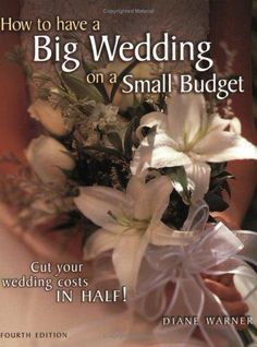 a must have for brides with BIG dreams and  small budget! Pin now read later