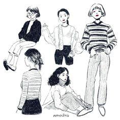inspiration // stuff i like Art And Illustration, Illustrations, Character Illustration, Pretty Art, Cute Art, Wow Art, Sketch Inspiration, Storyboard, Cute Drawings
