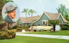 Residence of Jimmy Durante, Beverly Hills, California
