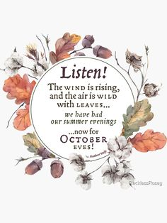 October Poem, Autumn Aesthetic, Autumn Cozy, Happy Fall Y'all, Hello Autumn, Autumn Inspiration, Fall Crafts, Fall Halloween, Autumn Leaves