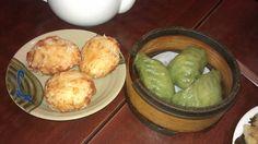 May 4 2013; Lotus Root Cakes & Spinach Dumplings. | Yelp